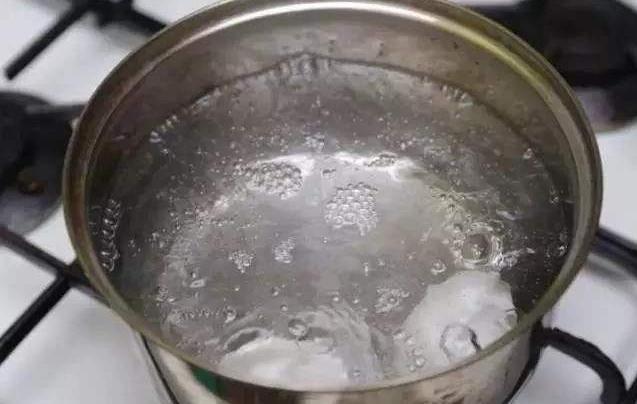 开水煮抹布