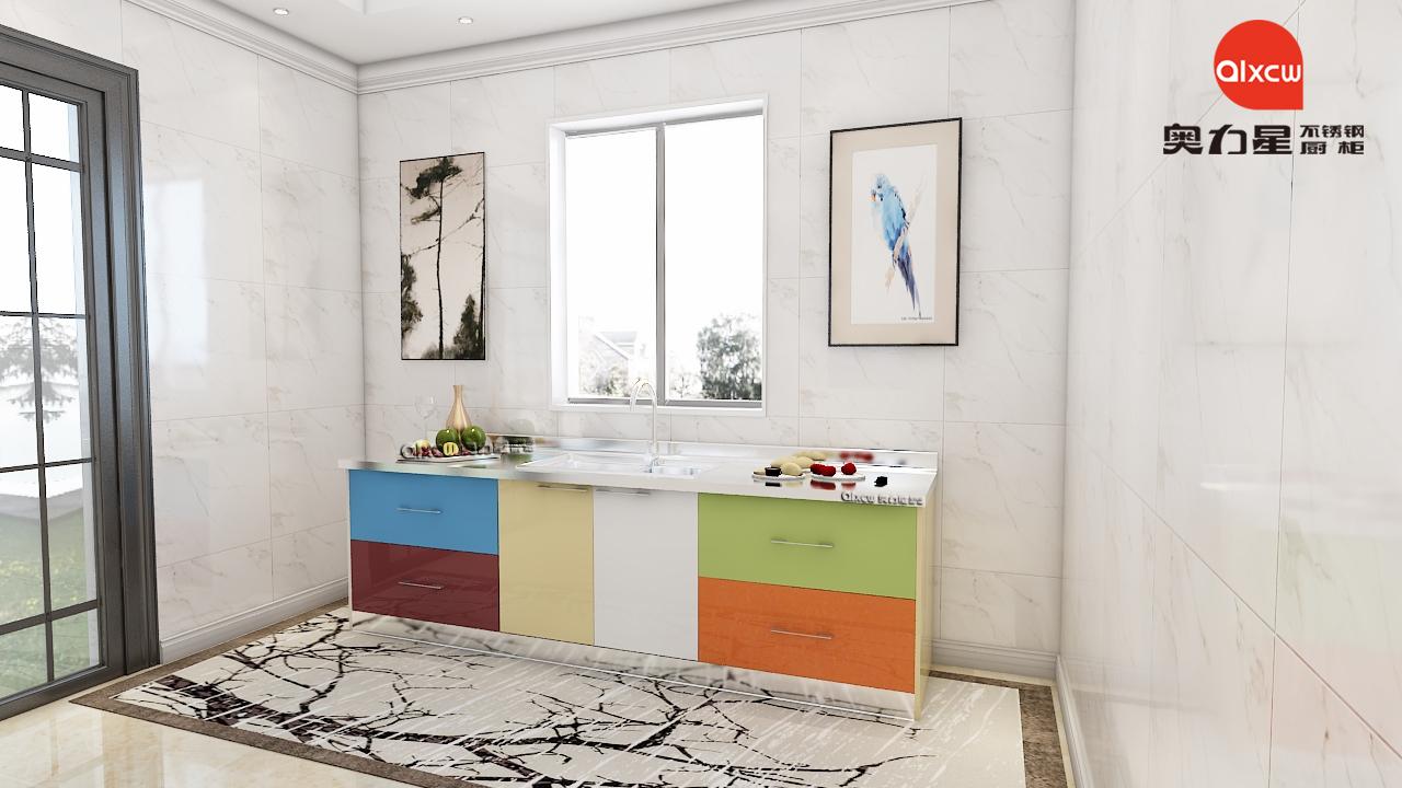 一字型厨房橱柜