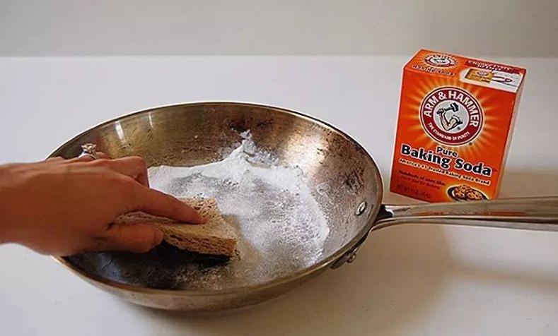小苏打洗锅