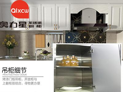 不锈钢厨柜吊柜图