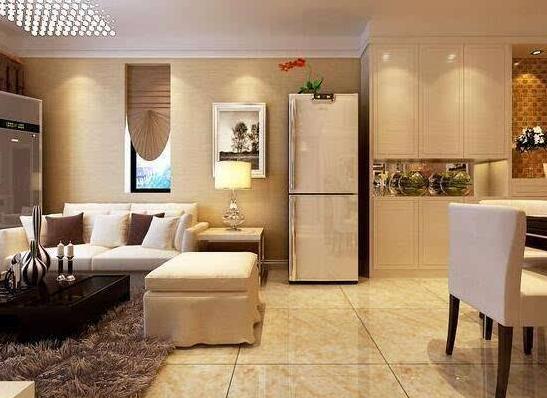 冰箱放在客厅