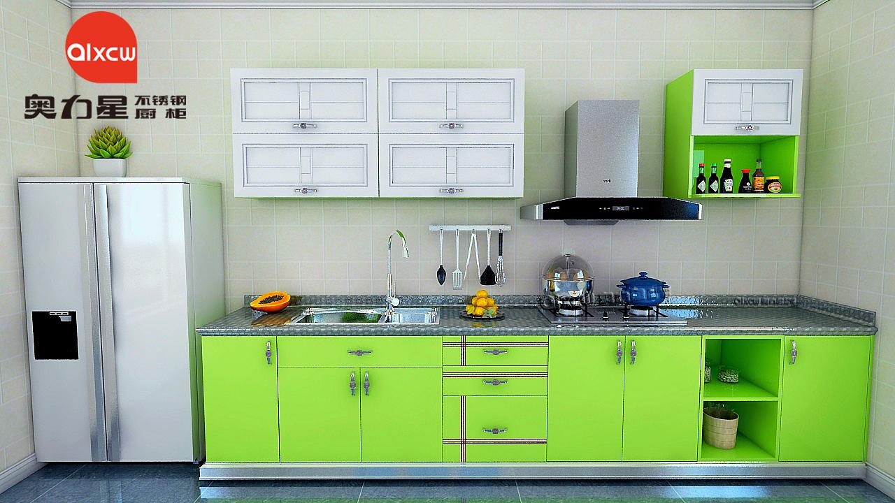 一字型厨房厨柜