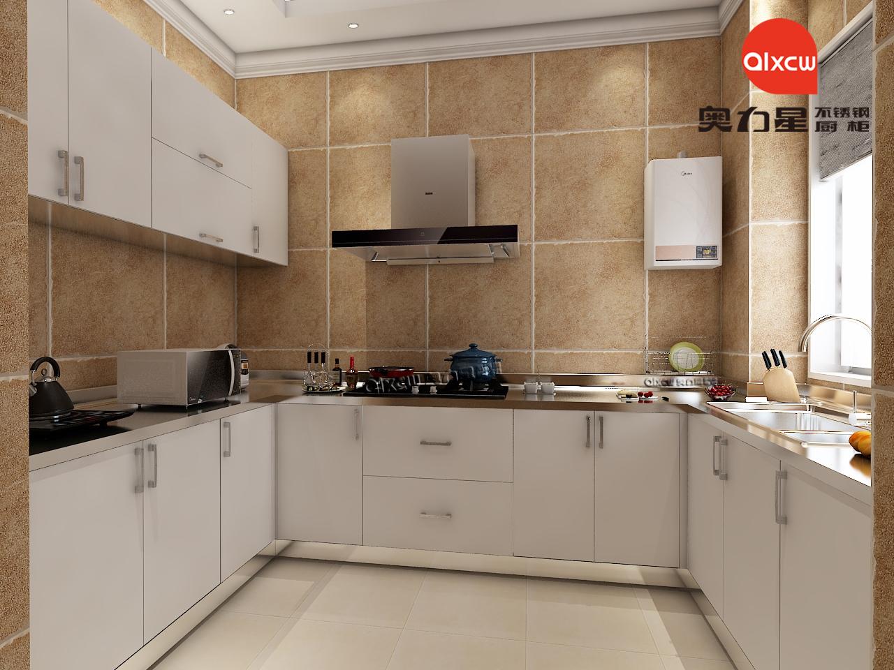 厨房橱柜效果图u型