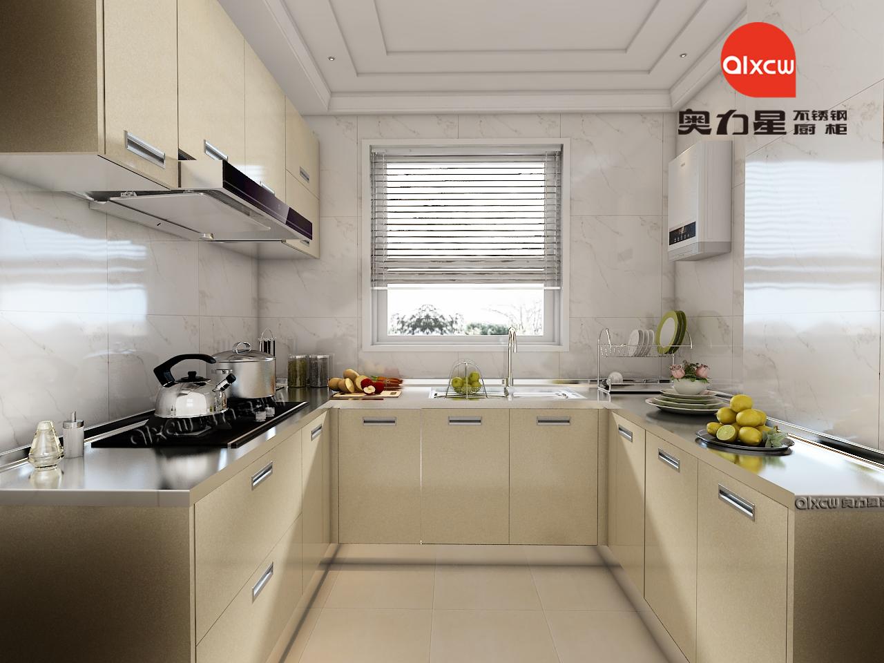 厨房橱柜U型