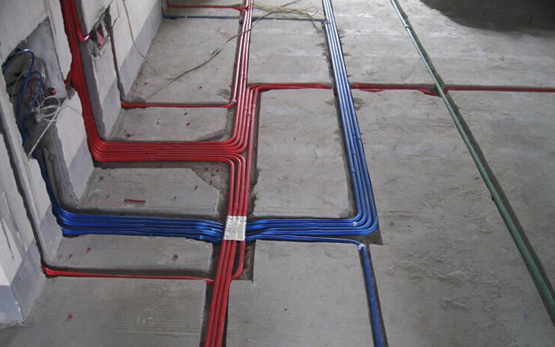 电路线管紧密排布