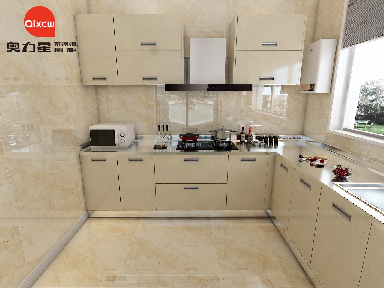 L型厨房橱柜